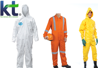 Vestimenta de proteção epi