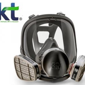 Máscara descartável proteção produtos químicos