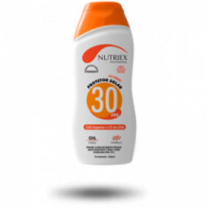 CREME SOLAR FATOR 30 NUTRIEX