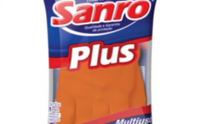Luva Latéx Sanro Plus