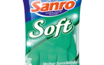 Luva Latéx Sanro Soft