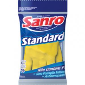 Luva Latéx Sanro Standard