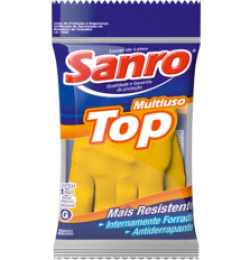Luva Latéx Sanro TOP